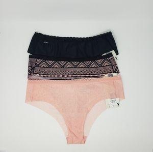 Women's XL Jockey Cheekster Panties 3 Pair NWT